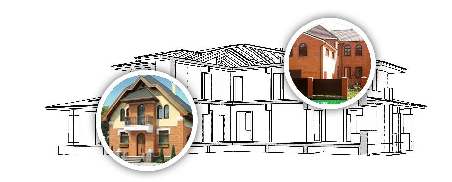 Строительство домов из кирпича и блоков
